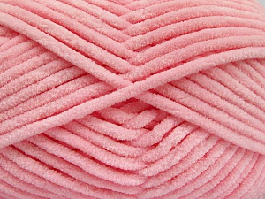 Fiber Content 100% Micro Fiber, Light Pink, Brand Ice Yarns, Yarn Thickness 4 Medium  Worsted, Afghan, Aran, fnt2-54163