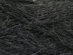 Fiber Content 70% Acrylic, 30% Alpaca, Brand ICE, Anthracite Black, Yarn Thickness 5 Bulky  Chunky, Craft, Rug, fnt2-54322