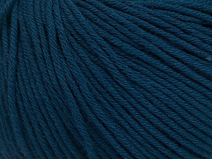 Global Organic Textile Standard (GOTS) Certified Product. CUC-TR-017 PRJ 805332/918191 Fiber Content 100% Organic Cotton, Navy, Brand ICE, Yarn Thickness 3 Light  DK, Light, Worsted, fnt2-54727