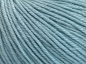 Fiber Content 50% Silk, 30% Merino Superfine, 20% Cashmere, Brand ICE, Baby Blue, Yarn Thickness 3 Light  DK, Light, Worsted, fnt2-54791