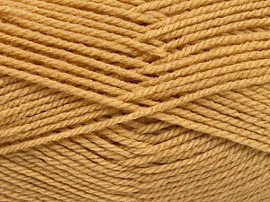 Worsted  Fiber Content 100% Acrylic, Brand ICE, Cafe Latte, Yarn Thickness 4 Medium  Worsted, Afghan, Aran, fnt2-54876
