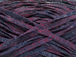 Fiber Content 82% Viscose, 18% Polyester, Maroon, Brand ICE, Dark Navy, Yarn Thickness 5 Bulky  Chunky, Craft, Rug, fnt2-55026