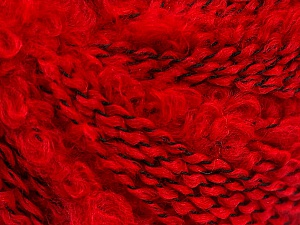 Fiber Content 100% Acrylic, Red, Brand ICE, Yarn Thickness 5 Bulky  Chunky, Craft, Rug, fnt2-55161