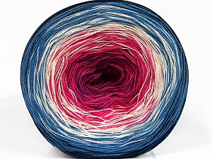 Fiber Content 50% Acrylic, 50% Cotton, Lavender, Brand ICE, Fuchsia, Cream, Blue Shades, Yarn Thickness 2 Fine  Sport, Baby, fnt2-55248