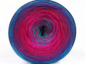 Fiber Content 50% Acrylic, 50% Cotton, Turquoise, Pink Shades, Lilac, Brand ICE, Blue, Yarn Thickness 2 Fine  Sport, Baby, fnt2-55251