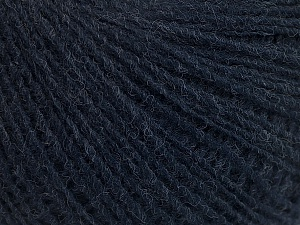 Fiber Content 50% Acrylic, 50% Wool, Navy, Brand ICE, Yarn Thickness 2 Fine  Sport, Baby, fnt2-55406