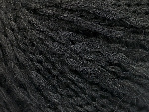 Fiber Content 50% Wool, 40% Acrylic, 10% Polyamide, Brand ICE, Anthracite Black, Yarn Thickness 4 Medium  Worsted, Afghan, Aran, fnt2-55414
