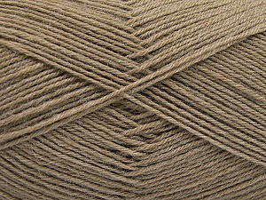 Fiber Content 75% Superwash Wool, 25% Polyamide, Brand ICE, Camel, Yarn Thickness 1 SuperFine  Sock, Fingering, Baby, fnt2-55468