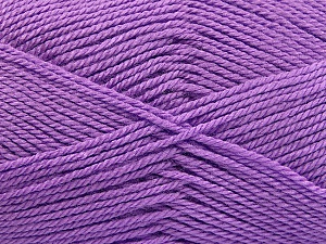 Fiber Content 100% Acrylic, Lavender, Brand ICE, Yarn Thickness 2 Fine  Sport, Baby, fnt2-55721