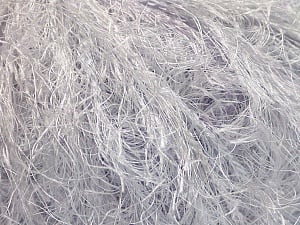 Fiber Content 100% Polyamide, White, Light Lilac, Brand ICE, Yarn Thickness 5 Bulky  Chunky, Craft, Rug, fnt2-55730