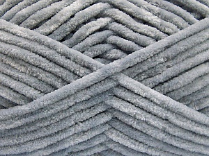 Fiber Content 100% Micro Fiber, Brand Ice Yarns, Grey, Yarn Thickness 4 Medium  Worsted, Afghan, Aran, fnt2-55751