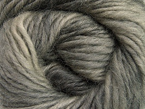 Fiber Content 100% Wool, Brand ICE, Grey Shades, Yarn Thickness 4 Medium  Worsted, Afghan, Aran, fnt2-55795