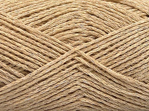 Fiber Content 44% Cotton, 44% Acrylic, 12% Polyamide, Brand ICE, Cafe Latte, Yarn Thickness 2 Fine  Sport, Baby, fnt2-56008