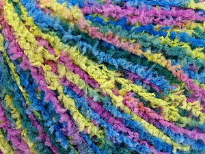 Fiber Content 100% Polyamide, Yellow, Lilac, Brand ICE, Green, Blue, Yarn Thickness 2 Fine  Sport, Baby, fnt2-56112