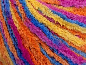 Fiber Content 100% Polyamide, Rainbow, Brand ICE, Yarn Thickness 3 Light  DK, Light, Worsted, fnt2-56116