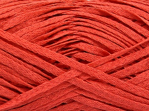 Fiber Content 100% Acrylic, Salmon, Brand ICE, Yarn Thickness 3 Light  DK, Light, Worsted, fnt2-56138