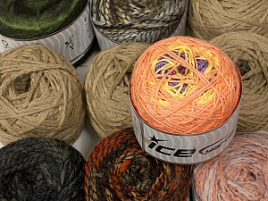 Custom Blends Please note that skein weight information given for this lot is average. Brand ICE, fnt2-56236