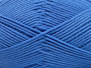 Fiber Content 50% SuperFine Acrylic, 50% SuperFine Nylon, Brand ICE, Blue, Yarn Thickness 4 Medium  Worsted, Afghan, Aran, fnt2-56287