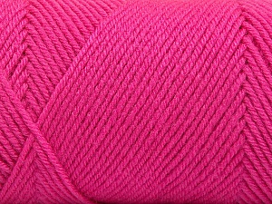 Fiber Content 50% Wool, 50% Acrylic, Pink, Brand ICE, Yarn Thickness 3 Light  DK, Light, Worsted, fnt2-56440