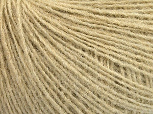 Fiber Content 50% Wool, 50% Acrylic, Brand ICE, Beige, Yarn Thickness 2 Fine  Sport, Baby, fnt2-56487