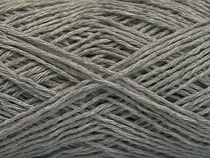 Fiber Content 100% Cotton, Brand ICE, Grey, Yarn Thickness 2 Fine  Sport, Baby, fnt2-56499
