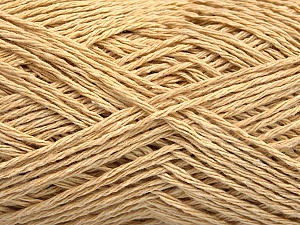 Fiber Content 100% Cotton, Brand ICE, Dark Cream, Yarn Thickness 2 Fine  Sport, Baby, fnt2-56502