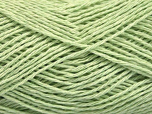 Fiber Content 100% Cotton, Light Green, Brand ICE, Yarn Thickness 2 Fine  Sport, Baby, fnt2-56505