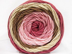Fiber Content 100% Acrylic, Pink, Orchid, Brand ICE, Camel, Beige, Yarn Thickness 4 Medium  Worsted, Afghan, Aran, fnt2-56546