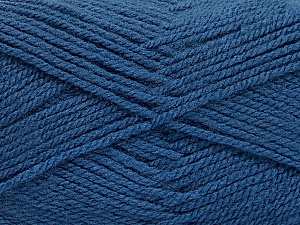 Fiber Content 100% Acrylic, Brand ICE, Blue, Yarn Thickness 3 Light  DK, Light, Worsted, fnt2-56571