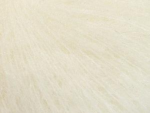 Fiber Content 39% Polyamide, 27% Acrylic, 21% Mohair, 13% Wool, Brand ICE, Cream, Yarn Thickness 3 Light  DK, Light, Worsted, fnt2-56659