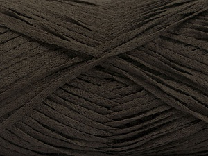Fiber Content 100% Acrylic, Brand ICE, Dark Brown, Yarn Thickness 3 Light  DK, Light, Worsted, fnt2-56697