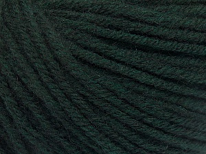Fiber Content 50% Acrylic, 50% Wool, Brand ICE, Dark Teal, Yarn Thickness 4 Medium  Worsted, Afghan, Aran, fnt2-56740