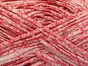 Fiber Content 100% Cotton, White, Red, Brand ICE, Yarn Thickness 5 Bulky  Chunky, Craft, Rug, fnt2-56785