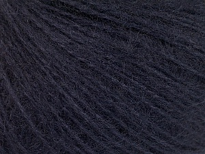 This is an excellent yarn with high-content of Alpaca, Mohair, and Merino Wool. Works excellent for your fine-weight patterns with more than 30 plain and melange colors. Fiber Content 40% Merino Wool, 30% Acrylic, 20% Alpaca, 10% Mohair, Brand ICE, Dark Purple, Yarn Thickness 2 Fine  Sport, Baby, fnt2-56955