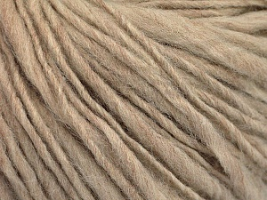 Fiber Content 55% Acrylic, 45% Wool, Brand ICE, Beige, Yarn Thickness 4 Medium  Worsted, Afghan, Aran, fnt2-56998