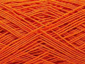 Fiber Content 100% Cotton, Orange, Brand ICE, Yarn Thickness 1 SuperFine  Sock, Fingering, Baby, fnt2-57186