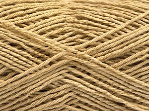 Fiber Content 100% Cotton, Brand ICE, Dark Beige, Yarn Thickness 2 Fine  Sport, Baby, fnt2-57296