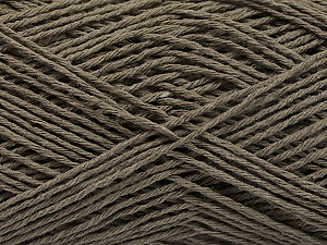 Fiber Content 100% Cotton, Brand ICE, Dark Khaki, Yarn Thickness 2 Fine  Sport, Baby, fnt2-57304