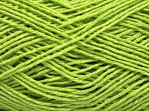 Fiber Content 100% Cotton, Brand ICE, Green, Yarn Thickness 2 Fine  Sport, Baby, fnt2-57313
