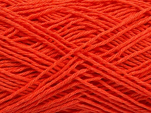 Fiber Content 100% Cotton, Brand ICE, Dark Salmon, Yarn Thickness 2 Fine  Sport, Baby, fnt2-57321