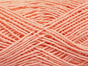 Fiber Content 100% Cotton, Light Salmon, Brand ICE, Yarn Thickness 2 Fine  Sport, Baby, fnt2-57324