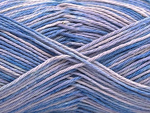 Fiber Content 100% Acrylic, Lilac Shades, Brand ICE, Yarn Thickness 2 Fine  Sport, Baby, fnt2-57349