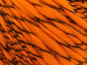 Fiber Content 90% Acrylic, 10% Polyamide, Orange, Brand ICE, Yarn Thickness 3 Light  DK, Light, Worsted, fnt2-57450