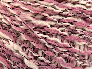 Fiber Content 90% Acrylic, 10% Polyamide, White, Rose Pink, Brand ICE, Yarn Thickness 3 Light  DK, Light, Worsted, fnt2-57456