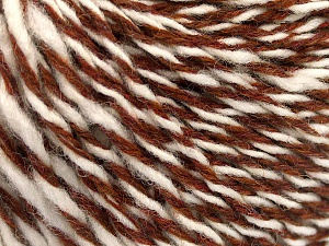 Fiber Content 70% Acrylic, 30% Wool, White, Brand ICE, Copper, fnt2-57529