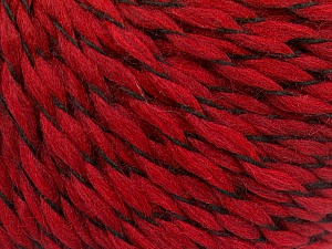 Fiber Content 100% Acrylic, Red, Brand ICE, Yarn Thickness 3 Light  DK, Light, Worsted, fnt2-57534