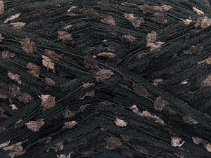 Fiber Content 50% Polyester, 50% Polyamide, Brand ICE, Brown, Black, fnt2-57582