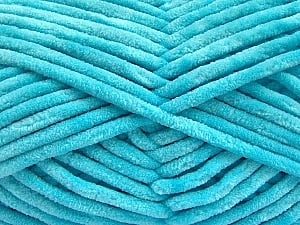 Fiber Content 100% Micro Fiber, Light Turquoise, Brand ICE, Yarn Thickness 4 Medium  Worsted, Afghan, Aran, fnt2-57639