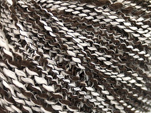 Fiber Content 60% Acrylic, 30% Wool, 10% Polyamide, White, Brand ICE, Dark Brown, fnt2-57686