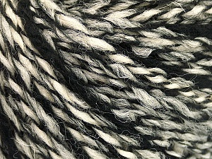Fiber Content 50% Wool, 50% Acrylic, Brand ICE, Grey, Cream, Black, fnt2-57688